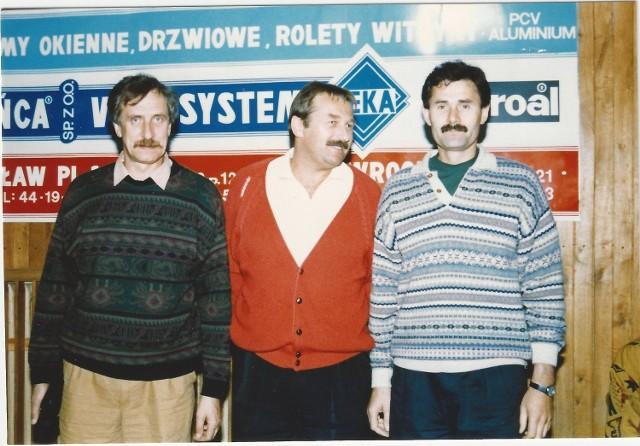 Siła dawnego Śląska. Od lewej Zdzisław Antczak, Jerzy Klempel i Andrzej Sokołowski.