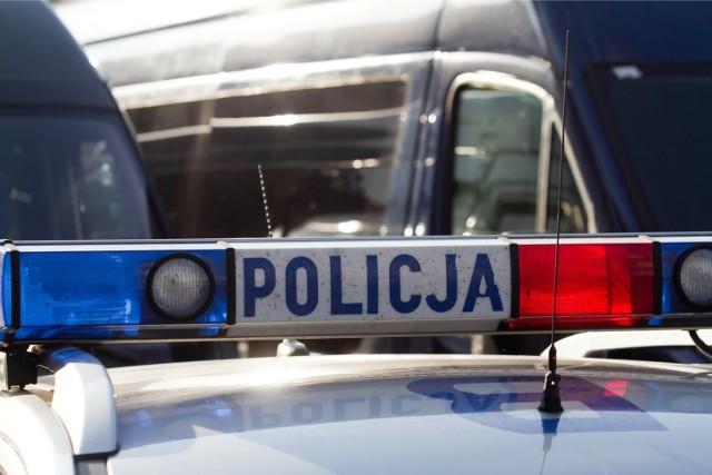 Policja i strażacy sprawdzają okoliczności zdarzenia
