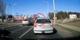 Jedno auto zatrzymało się przed pasami, dwa już nie (wideo internauty)