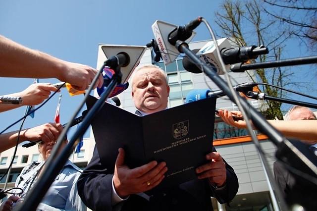 Mirosław Karapyta, marszałek województwa podkarpackiego.