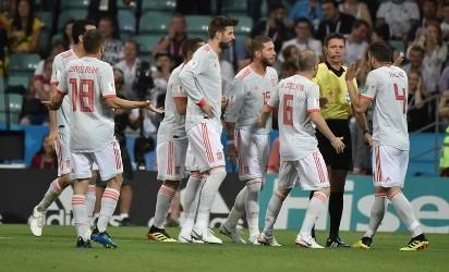66d644aa4 Rosja - Hiszpania bramki youtube 1:1, karne 4:3 skrót meczu 1.07 ...