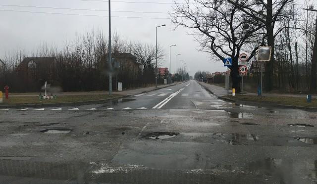Tak wygląda skrzyżowanie ulic Granicznej i Ławskiej