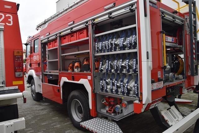 Jednostka Ochotniczej Straży Pożarnej w Wielkim Rychnowie...