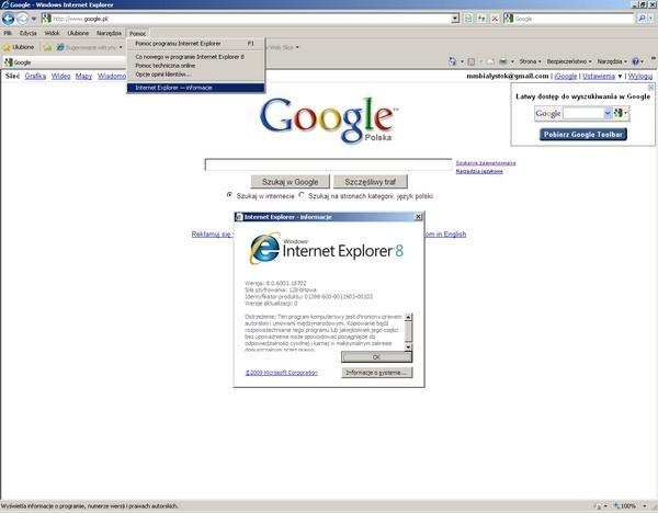 Google i Microsoft apelują do użytkowników starszych przeglądarek internetowych firmy Microsoft.