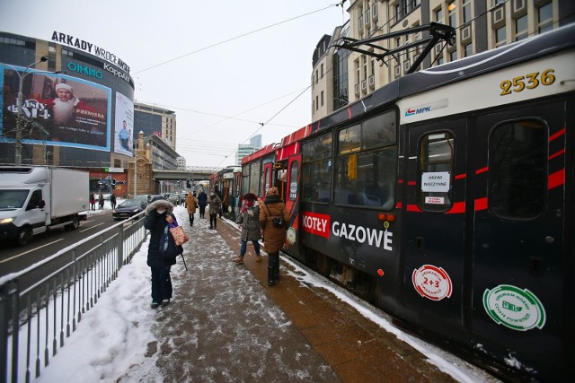 Atak zimy i paraliż MPK Wrocław