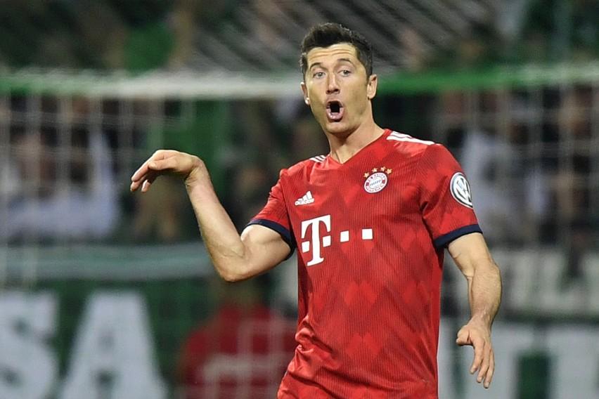 Puchar Niemiec  Robert Lewandowski zapewnił Bayernowi