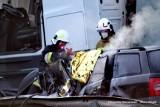 Tragiczny wypadek na drodze S6 koło Koszalina. Jedna osoba nie żyje [ZDJĘCIA] - 28.04.2021