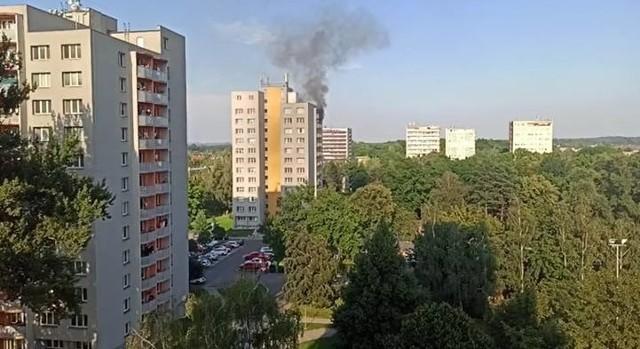 Mężczyzna, który odpowiada za podpalenie jednego z mieszkań w Bohuminie, usłyszał już zarzuty.