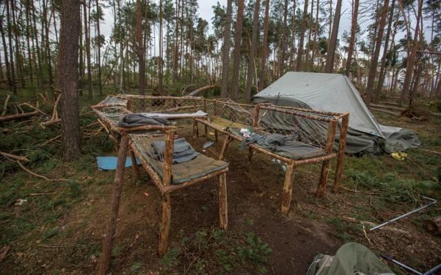 W czasie nawałnicy, która przeszła przez obóz harcerski w Suszku, zginęły dwie harcerki.
