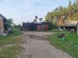 W gminie Ciepielów spłonął drewniany dom. Trwa internetowa zbiórka na jego odbudowę