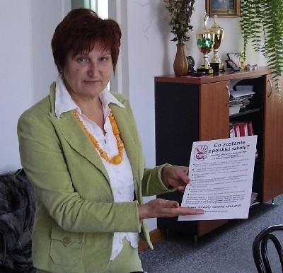 Aleutyna Kołos jest przekonana, że w przypadku najbiedniejszych gmin zmiany w prawie pogorszą jakość nauczania