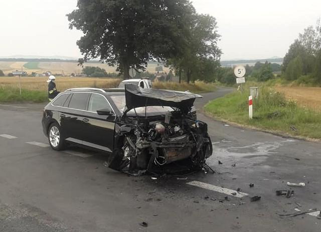 Wypadek pod Złotoryją, 10 sierpnia 2020