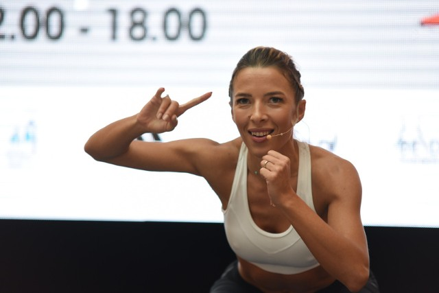Trening fitnes z Ewą Chodakowską w Toruniu