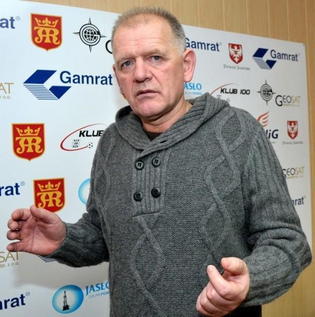 Wiesław Bazan władzę w jasielskim klubie sprawował od połowy grudnia 2011 roku.