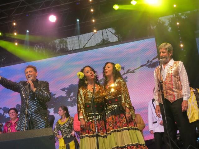 Gwiazdy gali: Bogdan Trojanek (Polska), siostry Raifer (Izrael) i Genadi Ishakow (Litwa)