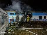 Pożar wagonu w Lesznie. Najprawdopodobniej doszło do zaprószenia ognia [ZDJĘCIA]