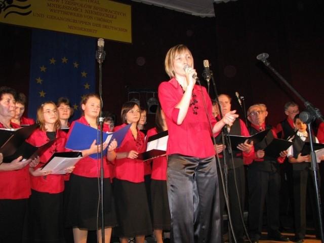 Walce: Festiwal chórów i zespolów śpiewaczych Mniejszości Niemieckiej. Seniores.