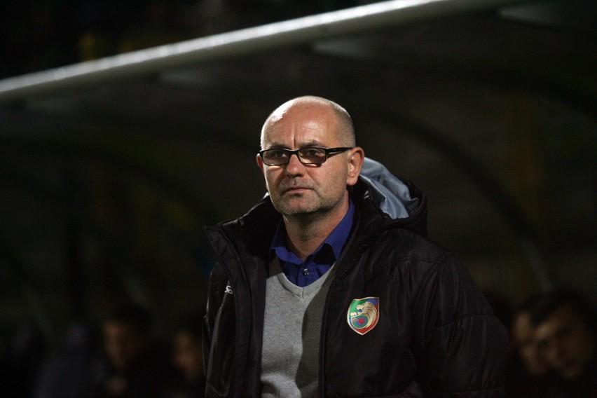 Dominik Nowak trenerem Miedzi jest od lipca 2017 roku.