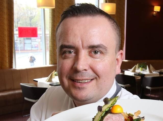 Michał Markowicz, szef kuchni hotelu Odyssey