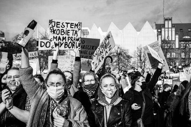 Strajki kobiet w Szczecinie
