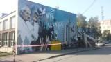 Jaworzno: mural Jana Pawła II na budynku ZSP3. Odbyło się uroczyste poświęcenie