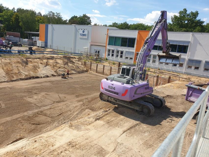 Prace budowlane rozpoczęły się w dniu 20 sierpnia 2020 roku...