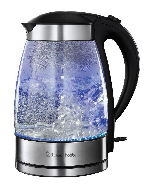 """Czajnik elektrycznyNowoczesny czajnik elektryczny, jak np. ten szklany z funkcją """"Iluminacje"""", może być ozdobą każdej kuchni."""
