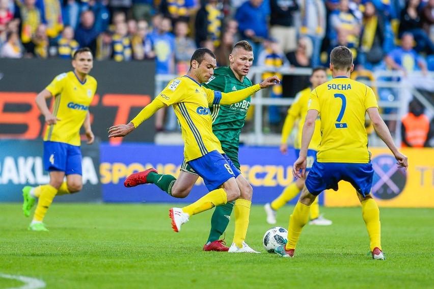 Arka Gdynia wygrała z Chojniczanką. Gol w pierwszej minucie spotkania
