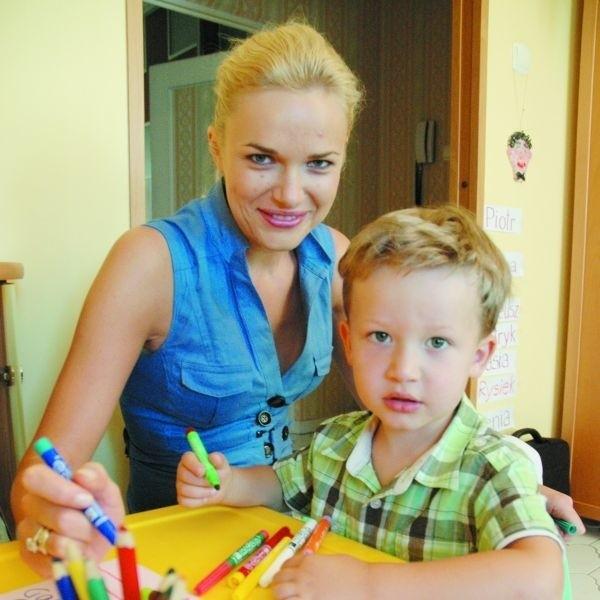Mój biznes urodził się wraz z synkiem Mateuszkiem - mówi Kinga Koronkiewicz, właścicielka Podlaskiego Centrum Opiekunek w Białymstoku