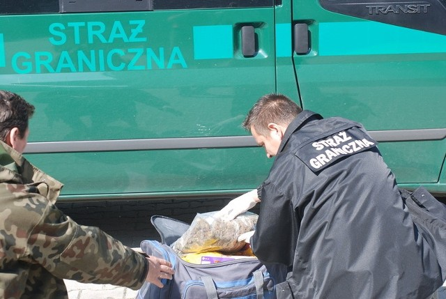 Straż graniczna zatrzymała dilera narkotyków
