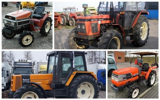 Przygotowaliśmy ponad 30 ofert ciągników rolniczych na sprzedaż z portalu gratka.pl. Przedział cenowy obejmuje maszyny od 7 tysięcy złotych do 39 tysięcy. Zobacz najnowsze ogłoszenia z cenami i zdjęciami.