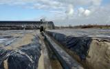 Praca przy rozlewni gazu i budowie terminala gazowego w Pawłowicach w gminie Sędziszów idą pełną parą