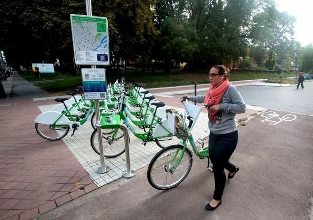 Rowery bez łańcuchów w Szczecinie