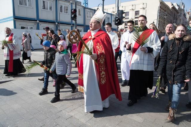 Marsz dla Jezusa w Łodzi przeszedł ulicą Piotrkowską