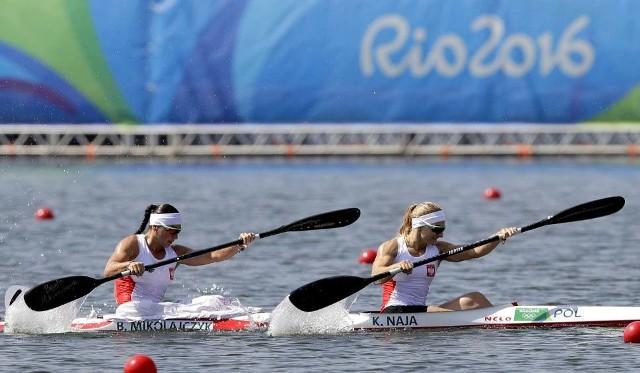 Karolina Naja i Beata Mikołajczak w K2 500