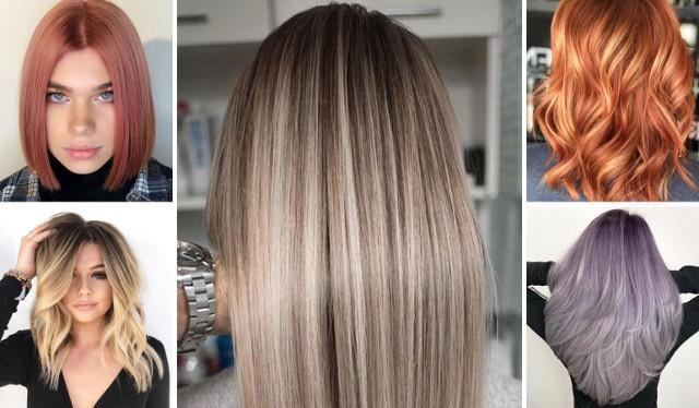 Zobacz NAJMODNIEJSZE kolory włosów na lato 2021