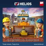 """Od dziś  premierowe pokazy filmu """"Bob Budowniczy: Mega Pojazdy"""" w """"Heliosie"""""""