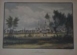 Świebodzin przekazał Sulechowowi staloryt z panoramą miasta. Zobacz, jak wygląda to dzieło