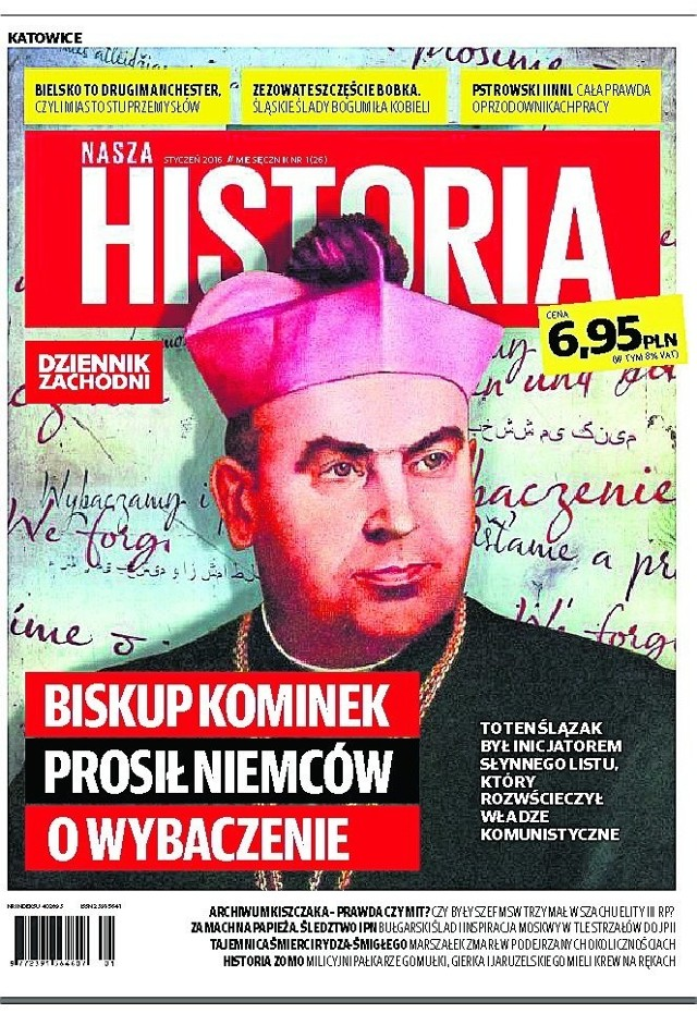 """W tym numerze """"Naszej Historii"""" m.in. biskup Kominek"""