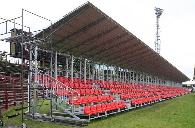 Szefowie Widzewa mają nadzieję, że przed rozpoczęciem rundy wiosennej do ich dyspozycji będzie trybuna ze starego stadionu ŁKS