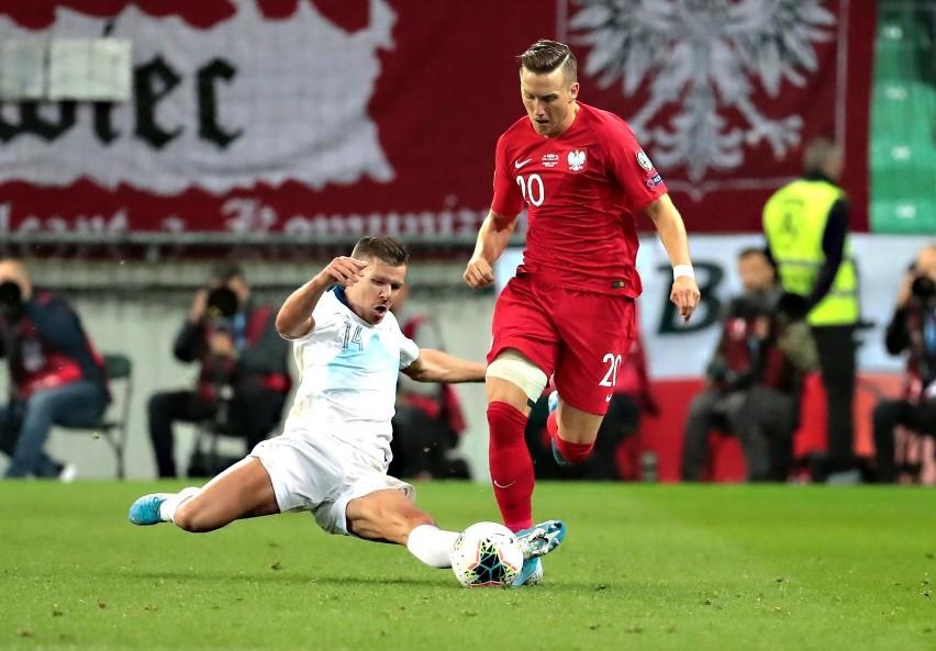 Piotr Zieliński zdobył bramkę dla Polski w pierwszym meczu z Włochami