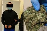 35 kg marihuany oraz prawie 2 kg mefedronu znalezione u pseudokibica z Lublina