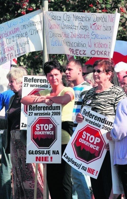 Mieszkańcy regionu legnickiego nie chcą u siebie odkrywki