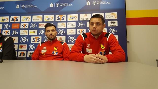 Maciej Makuszewski i Ariel Borysiuk - ostatnie wzmocnienia Jagiellonii