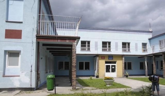 Sanatorium w Suchym Borze.