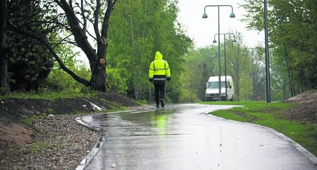 Osiedle Unii Europejskiej  zyskało nową trasę rowerową, która ma być elementem stworzonego tu w przyszłości Parku Europejskiego - na ten park trzeba będzie jednak jeszcze długo poczekać