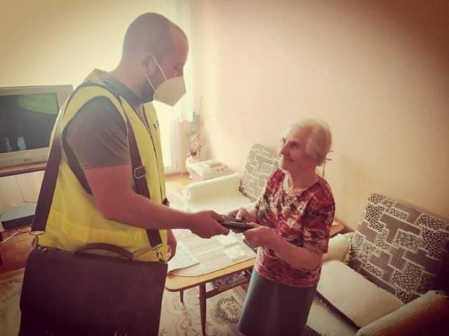 83-letnia piotrkowianka odzyskała portfel
