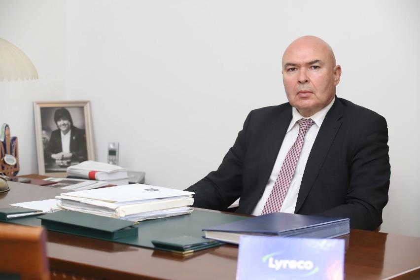 Adw. Jarosław Zdzisław Szymański, dziekan Okręgowej Rady Adwokackiej w Łodzi