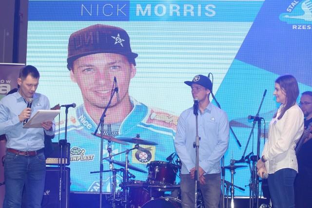 Nick Morris będzie mocnym ogniwem Stali Rzeszów