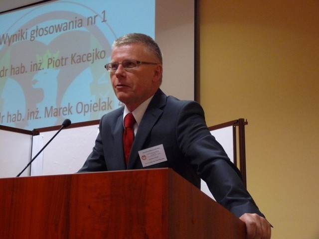 Profesor Piotr Kacejko, rektor Politechniki Lubelskiej